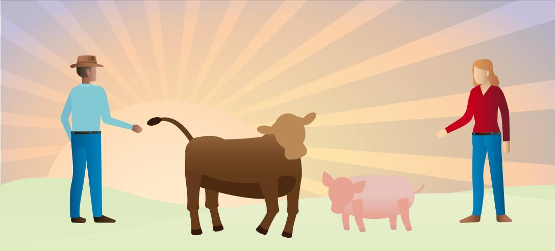 open prairie natural angus beef and pork animal welfare-responsibility