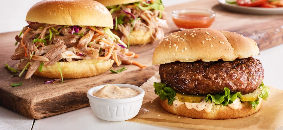Open prairie natural meats all-natural beef-ground beef burgers