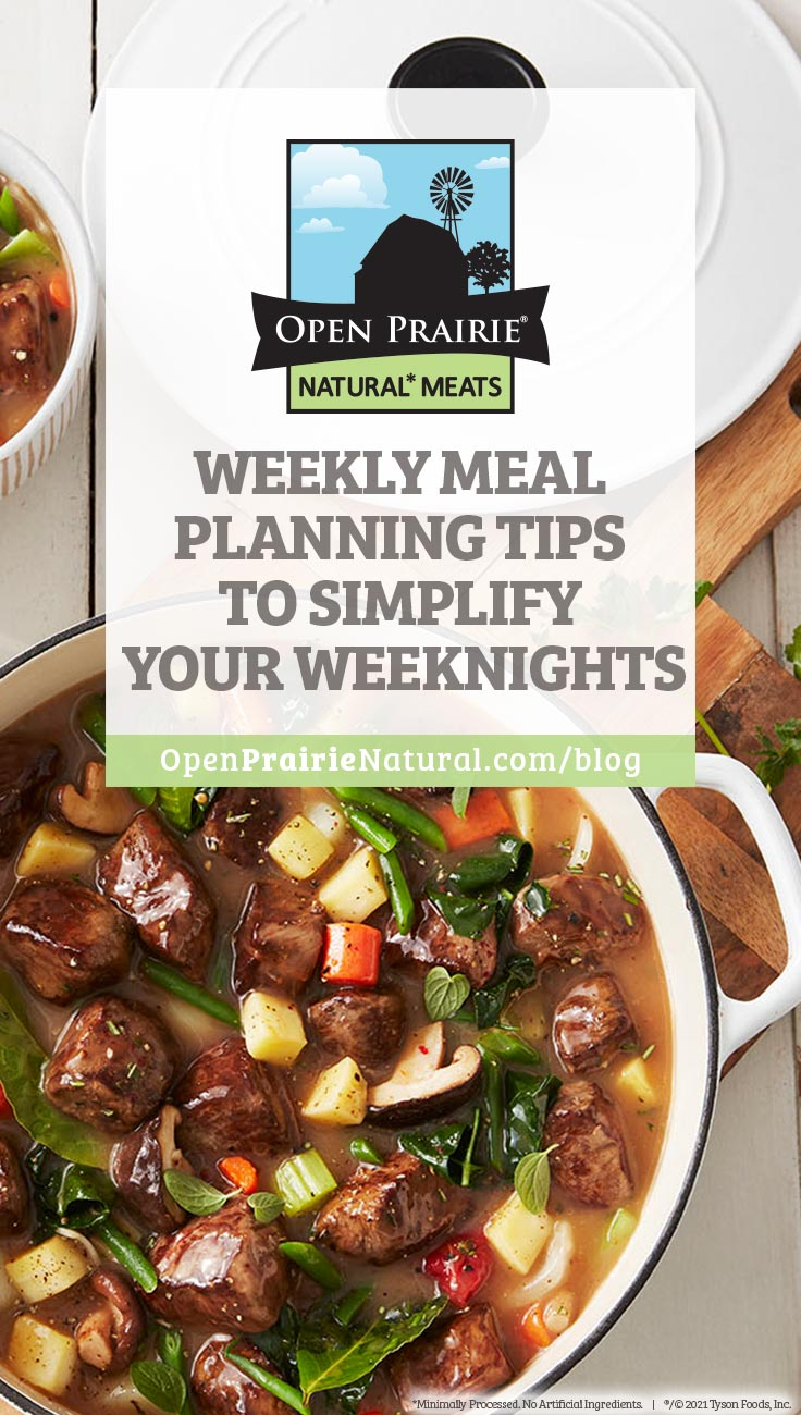 weekly meal planning tips